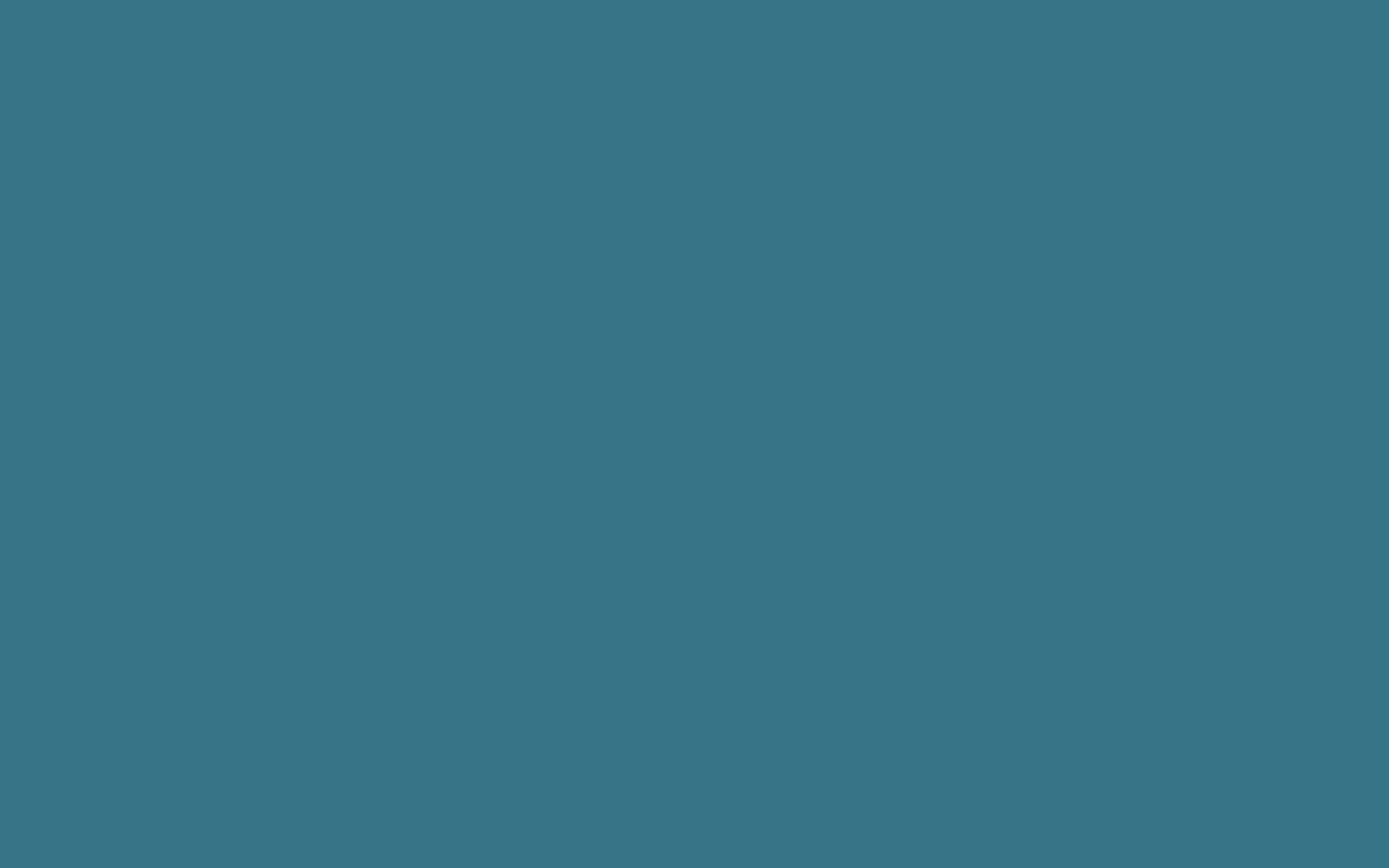 2560x1600 resolution Teal Blue solid color background view and 2560x1600