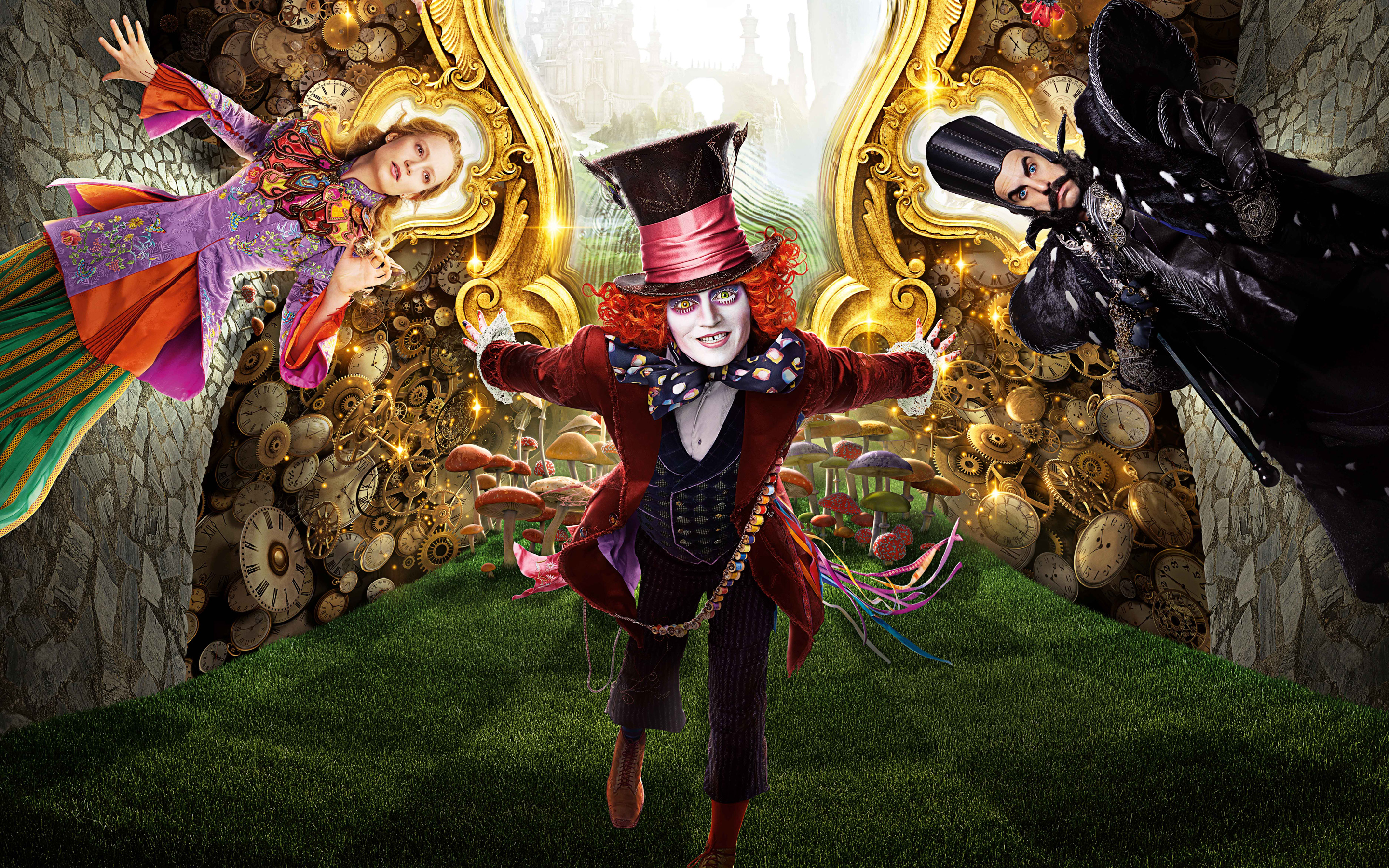 Alice Through the Looking Glass 2016 Wallpapers HD Wallpapers 2880x1800