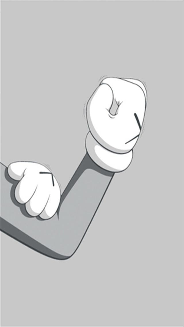 Kaws Wallpaper Kaws iphone hand gesture hd 640x1136