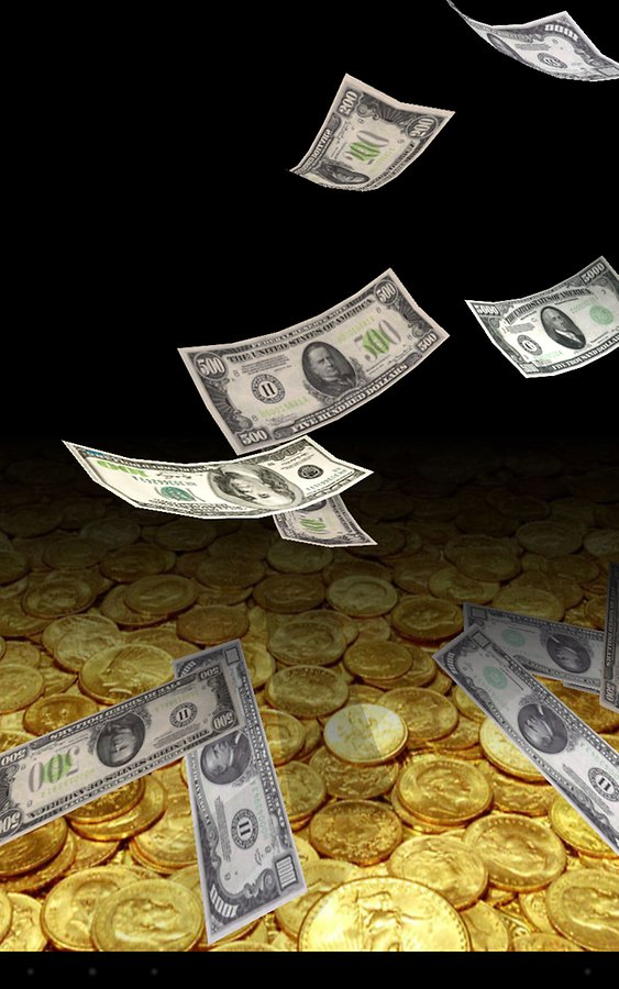 Живые Обои Бесплатно Падающие Деньги