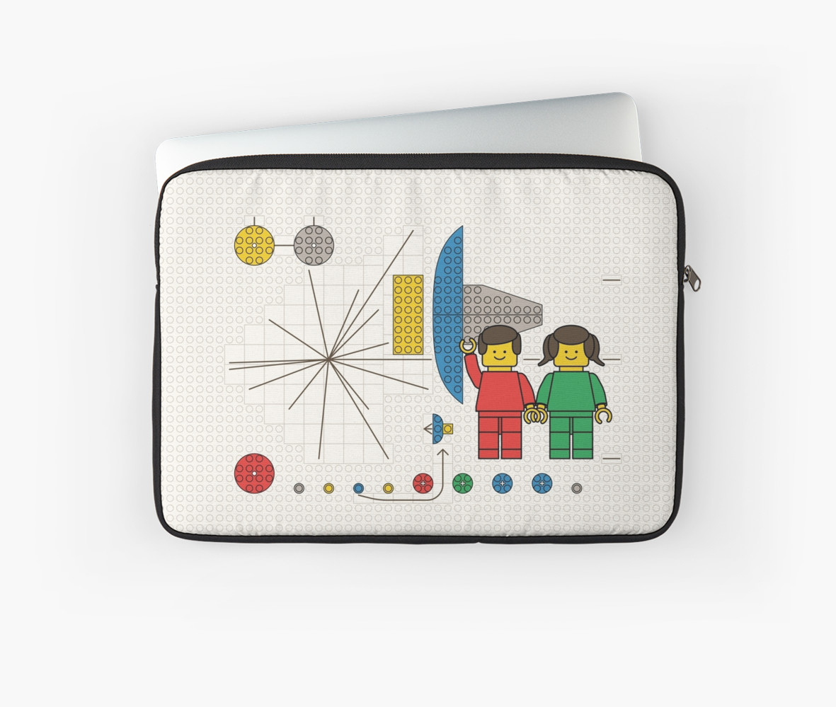 Hello Universe Extended Background Laptop Sleeves by Zern Liew 1181x999