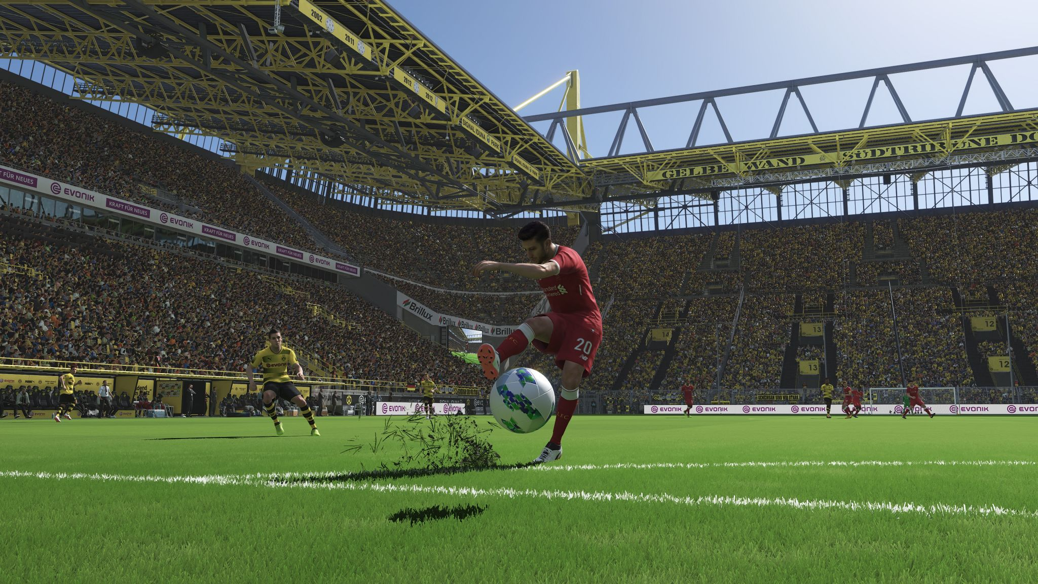 PES 2018 s 4K trailer screenshots and PC specs 2048x1152