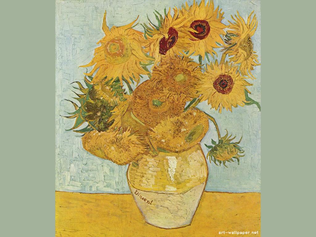 Vincent van Gogh Wallpaper Painting Wallpaper 1024x768