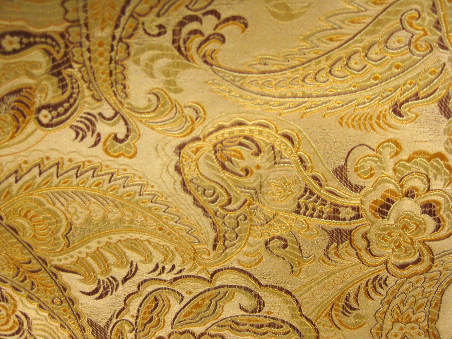image Golden brocade golden champagne