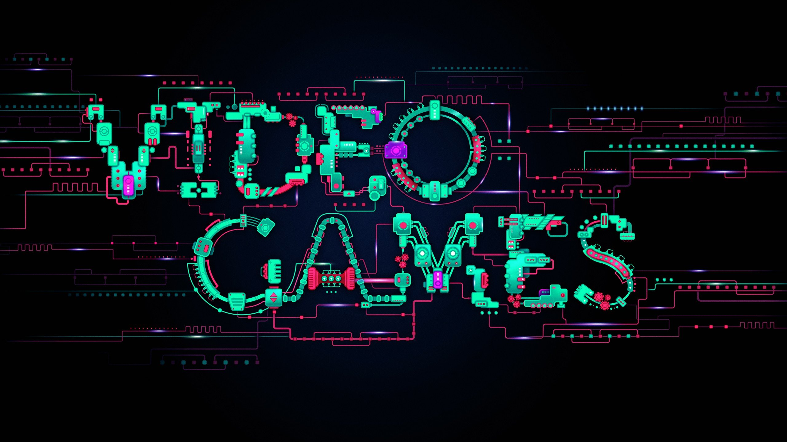 2560x1440 Video Games Typography desktop PC and Mac wallpaper 2560x1440