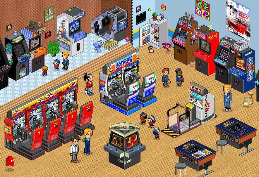 arcade retro 80 s fondo de pantalla   ForWallpapercom 885x606