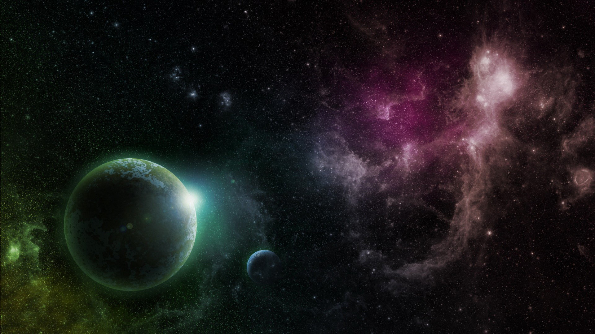 Space images Digital Planets wallpaper photos 28406917 1920x1080