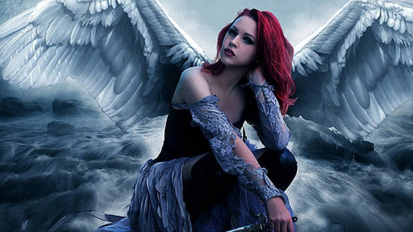 Angell   Angel Wallpaper 1366x768