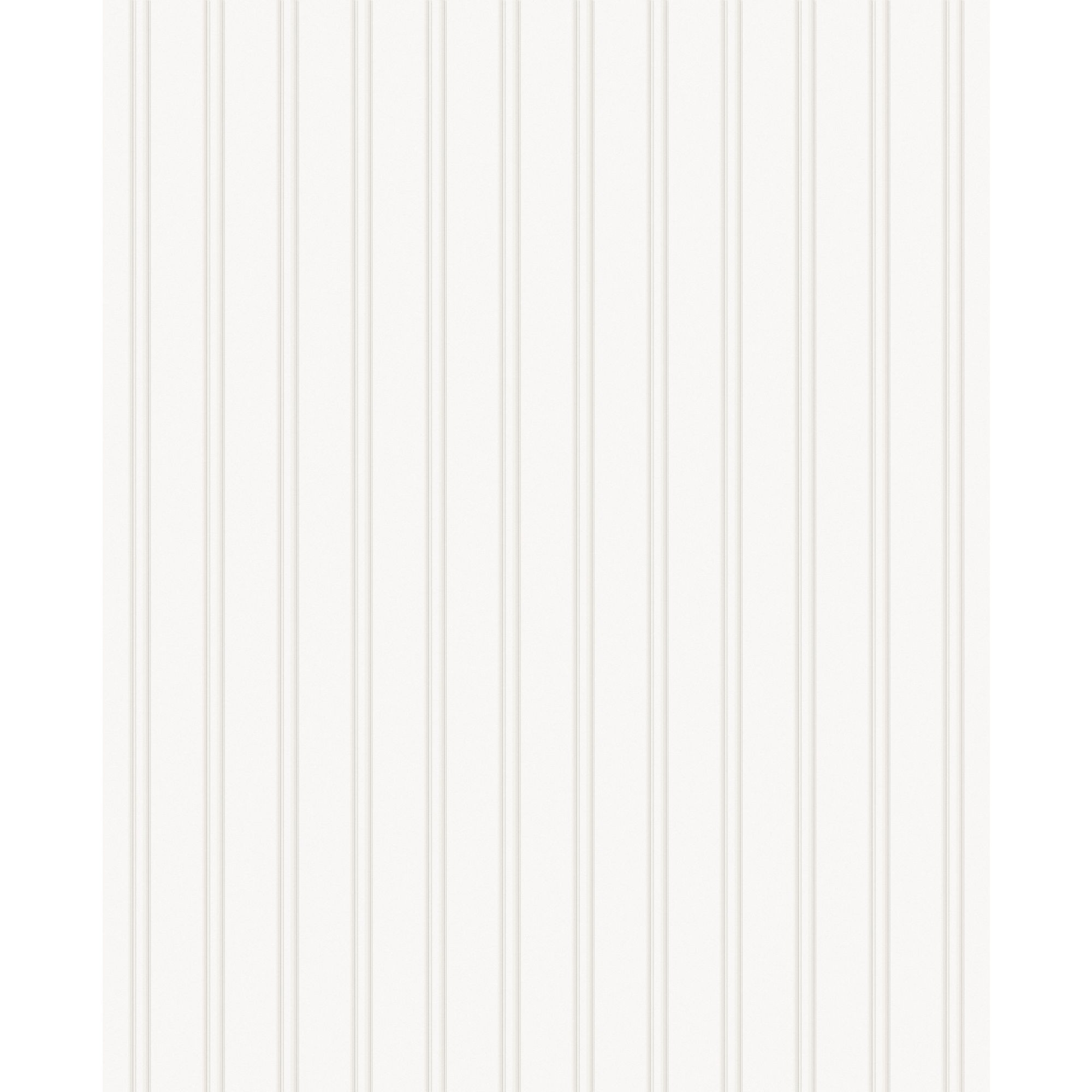 Paintable Prepasted Paintable Beadboard Wallpaper in White   15274 2000x2000