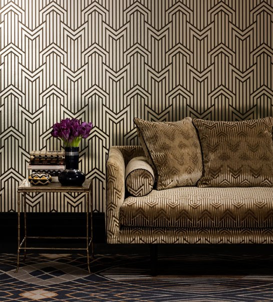 Art Deco Wallpaper   Inspired By 1920s Glamour 545x604