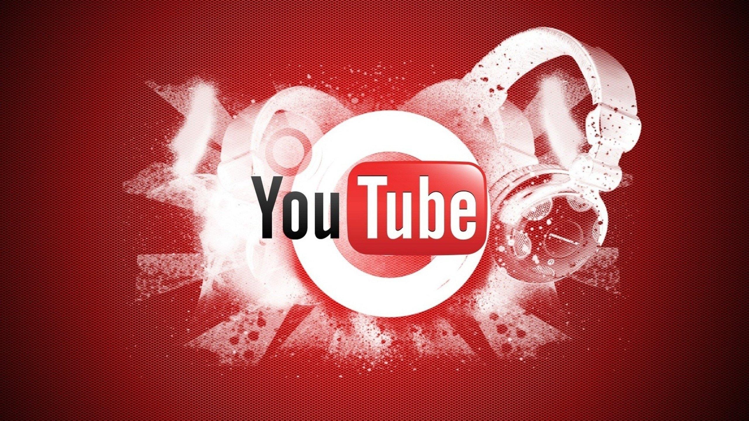 2560x1440 Wallpaper youtube video hosting logo google 2560x1440