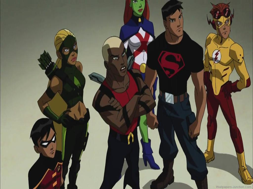 Young Justice Cartoon Wallpapers 1024x768