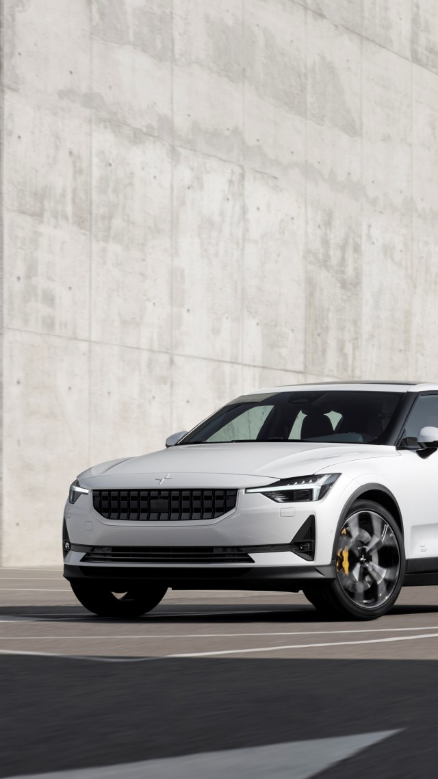 Wallpaper Polestar 2 2021 Cars electric cars Geneva Motor Show 640x1138