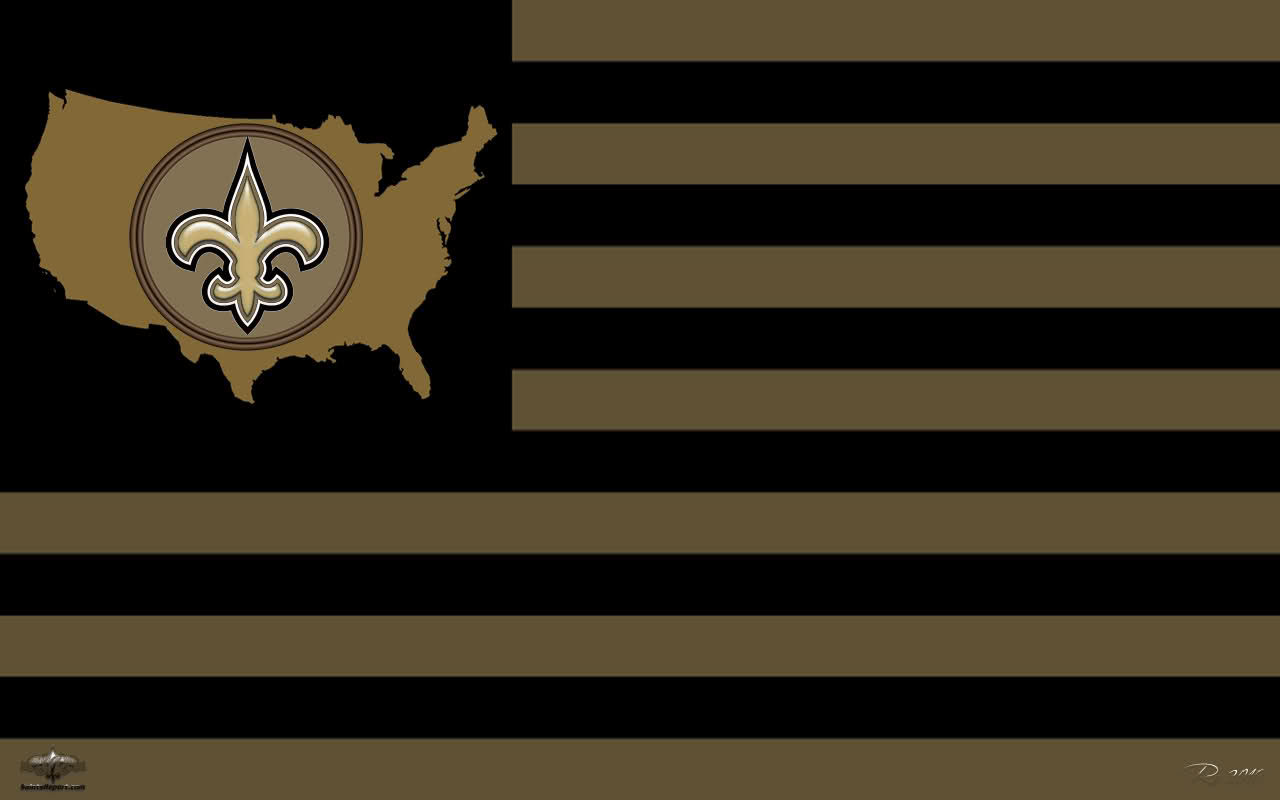 NFL New Orleans Saints Wallpaper Widescreen Wallpapers for PC and 1280x800