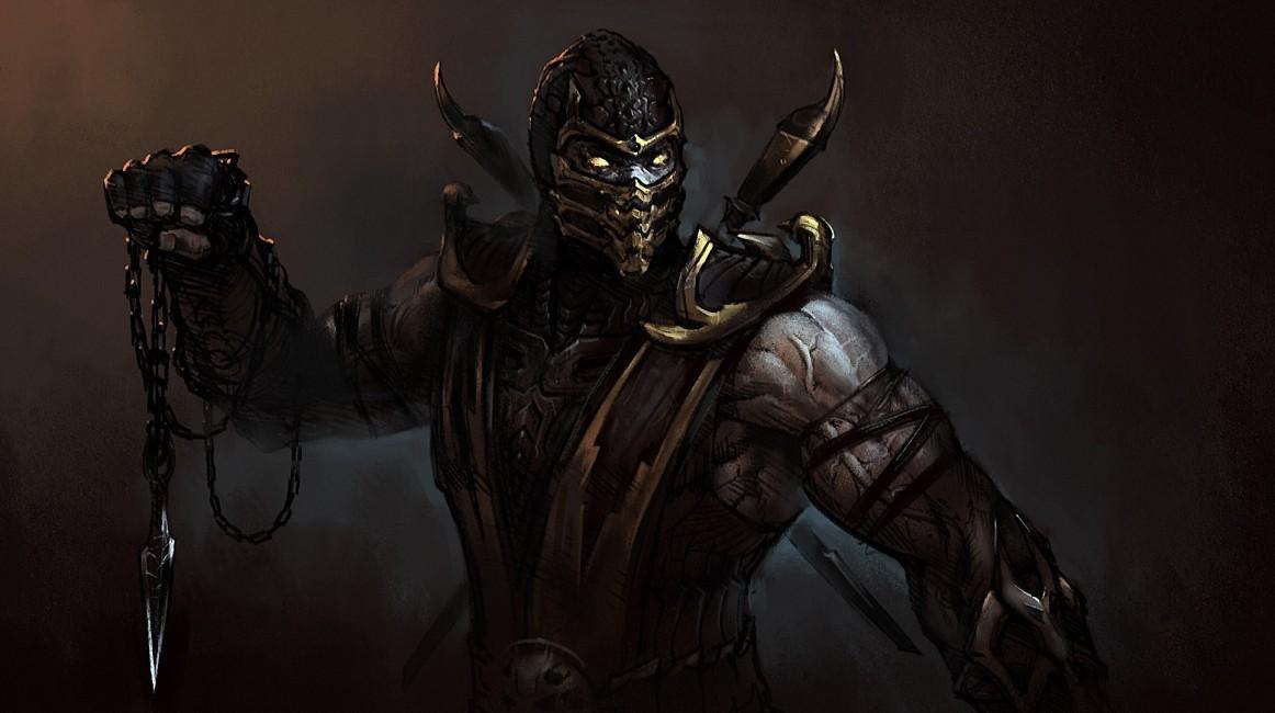 Mortal Kombat Komplete Edition Scorpion Art   Stock Photos 1162x650
