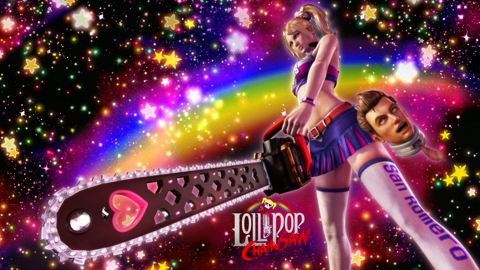 Lollipop Chainsaw Game Review 1600x900