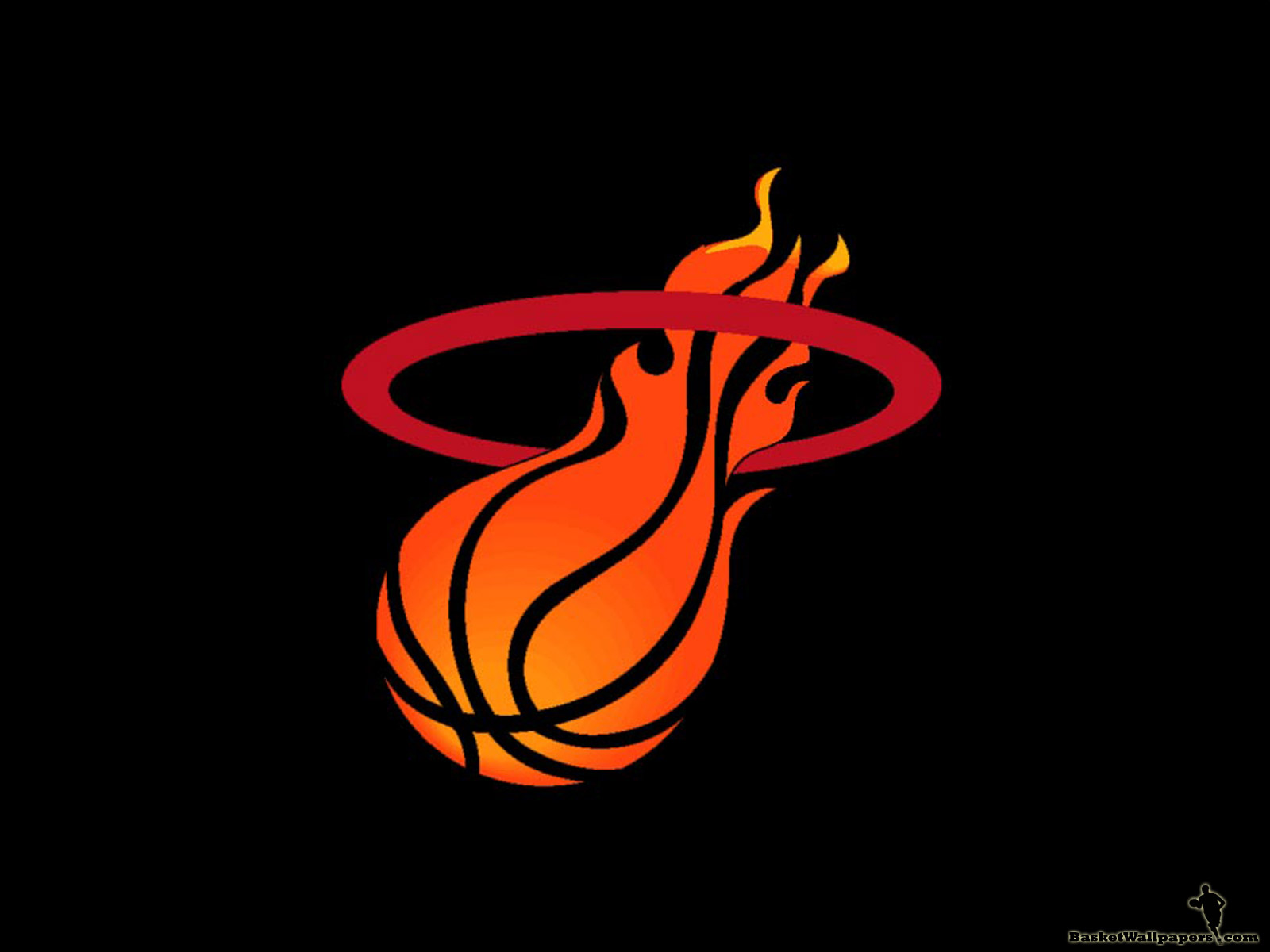 The second one is wallpaper of NBA team Miami Heat We have Miami Heat 1600x1200