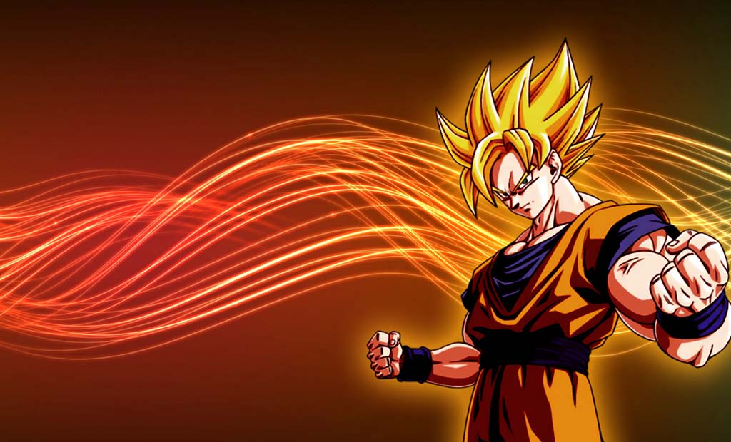 ZOOM HD PICS Dragonball Z Super saiyan goku Wallpapers HD 1024x620