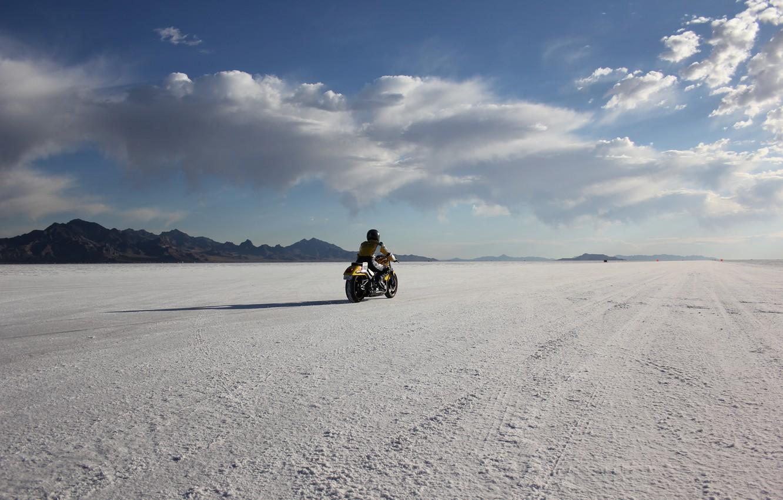 Wallpaper desert mountain race usa utah bonneville salt flats 1332x850