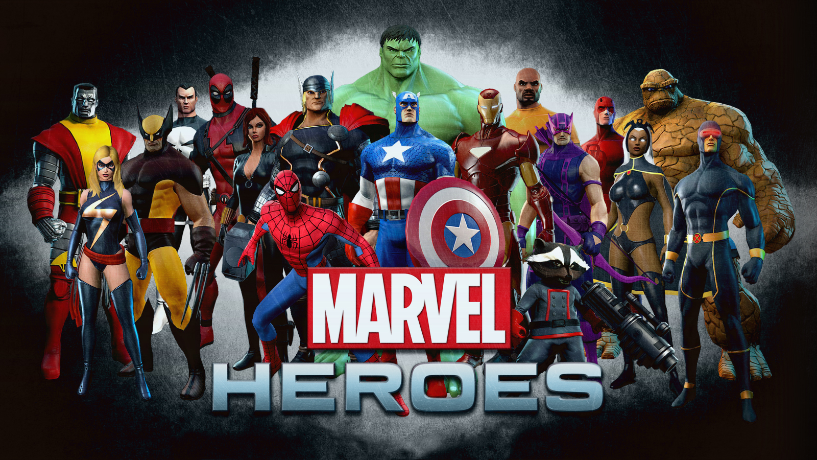 Marvel Heroes wallpaper 1600x900 73788 WallpaperUP 1600x900