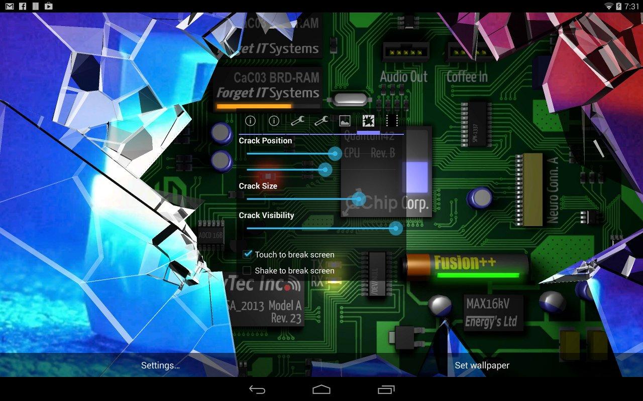 Download 920+ Wallpaper 3d Lcd Pecah Gratis Terbaru