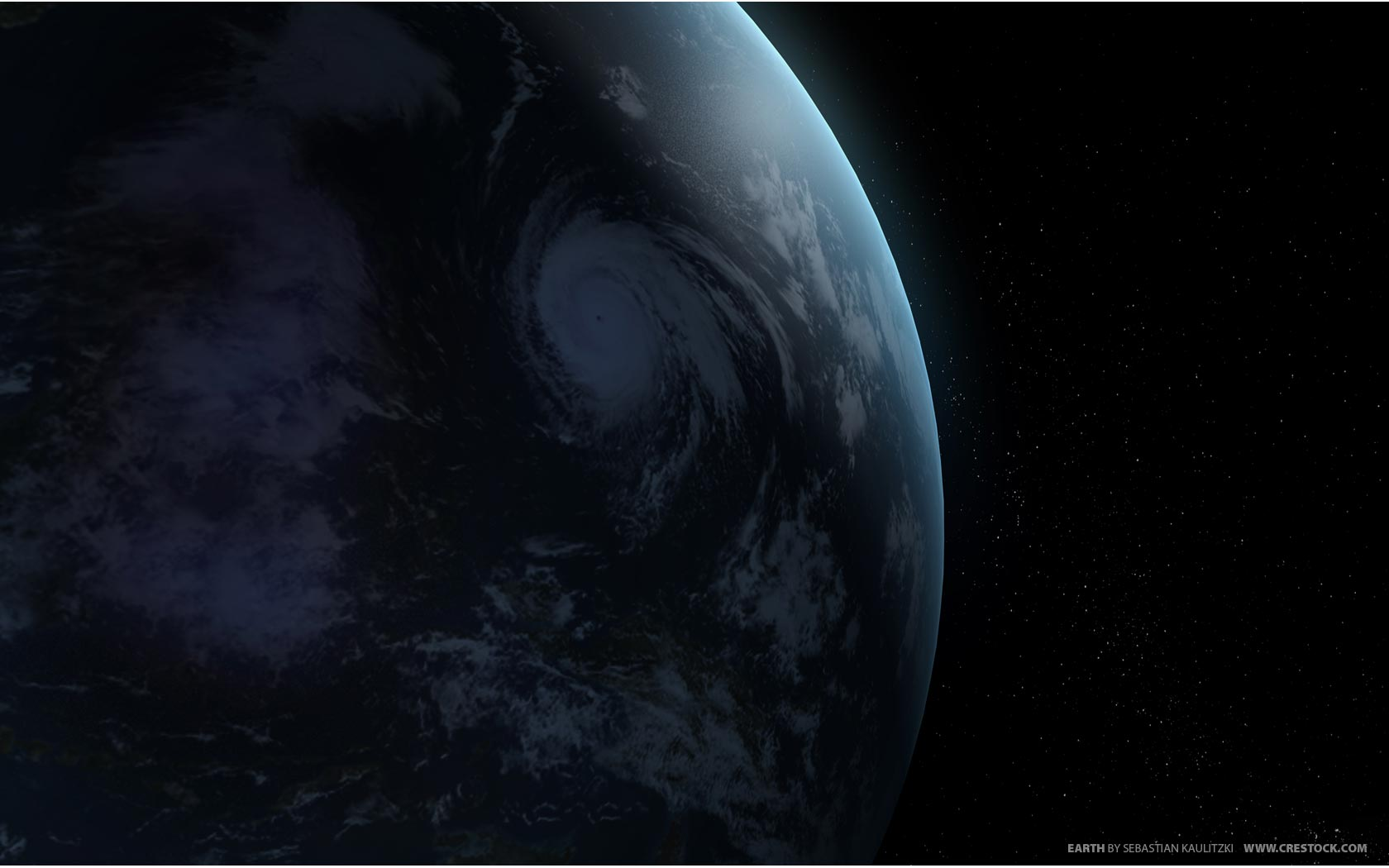 Hurricane From Space   Weather Wallpaper Image featuring Hurricanes 1680x1050