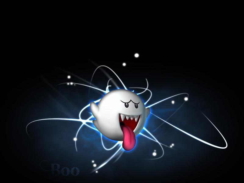Mario Boo Wallpaper 800x600