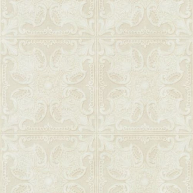 Brewster Island Grey Faux Grasscloth Wallpaper Fd23285: Raised Tile Look Wallpaper