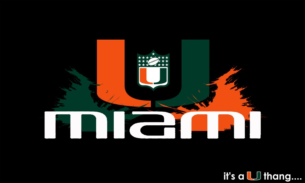Miami Hurricanes Basketball Logo >> University of Miami Football Wallpaper - WallpaperSafari