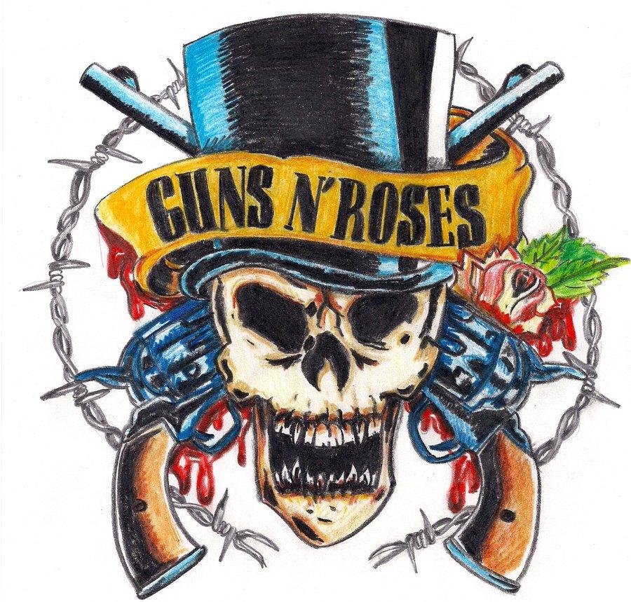 Guns N Roses Logo Wallpaper