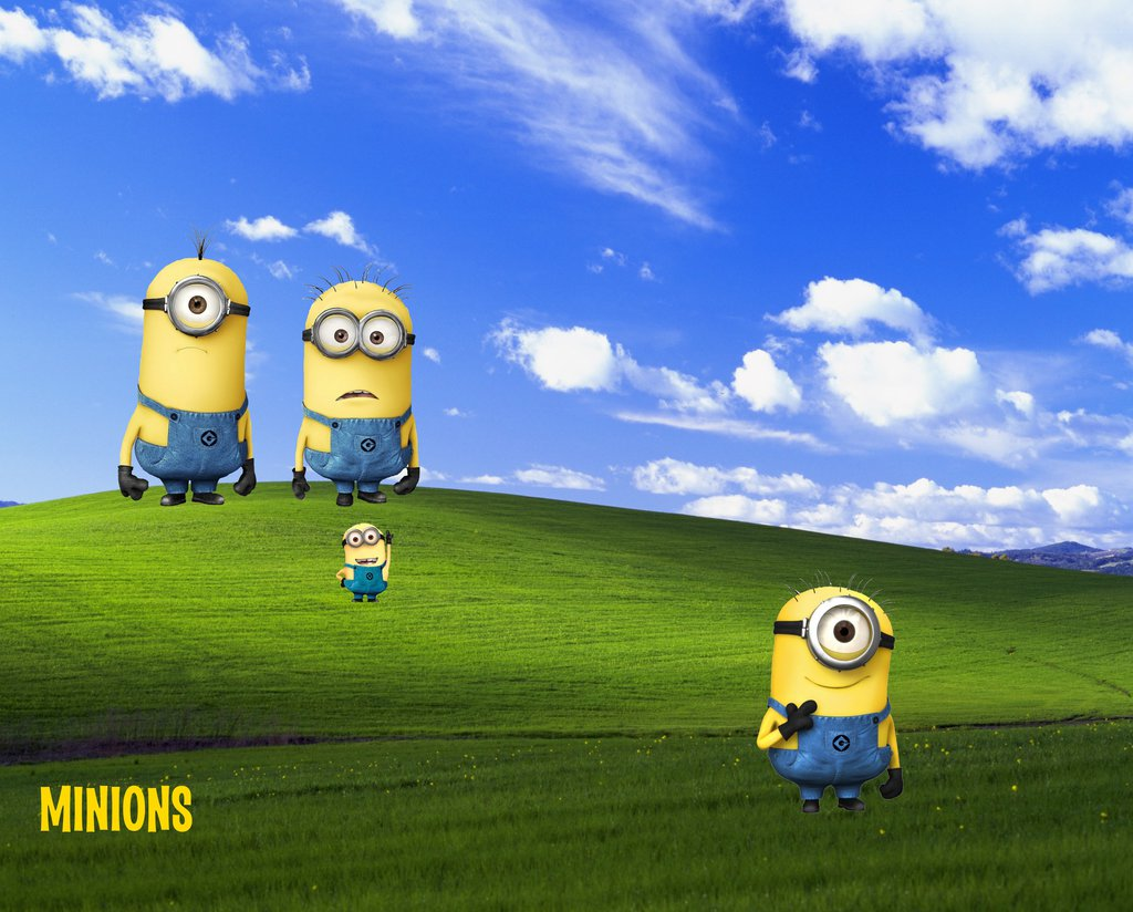 my minions wallpaper by geoshea customization wallpaper other 2013 1024x824