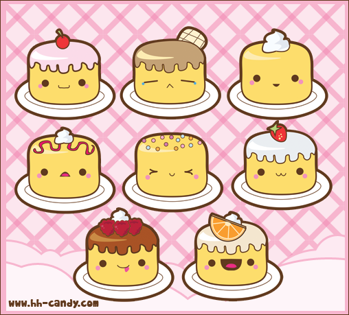 Free Download Cute Kawaii Food With Faces Further Cute Kawaii