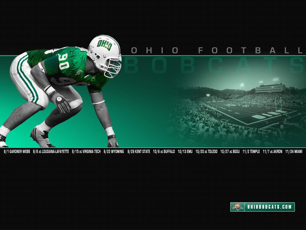 OHIOBOBCATSCOM   Ohio Official Athletic Site   Football 1024x768
