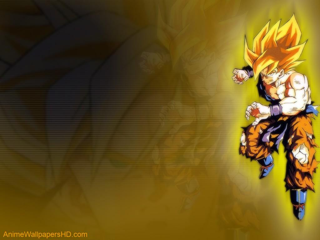 Goku Super Saiyan wallpaper 1024x768