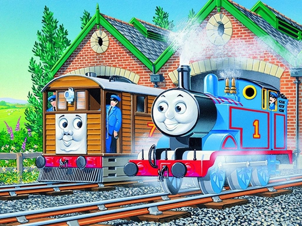 Thomas And Friends Wallpaper Wallpapersafari