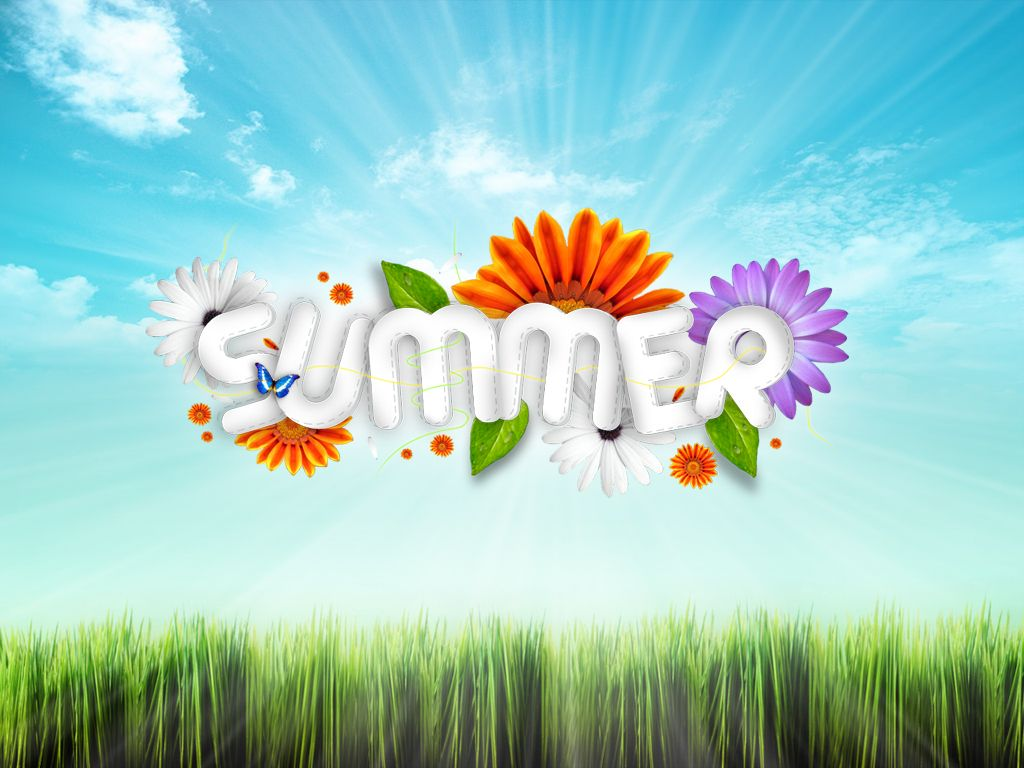 Summer Backgrounds Summer Wallpapers in HD Sunny Spring 1024x768