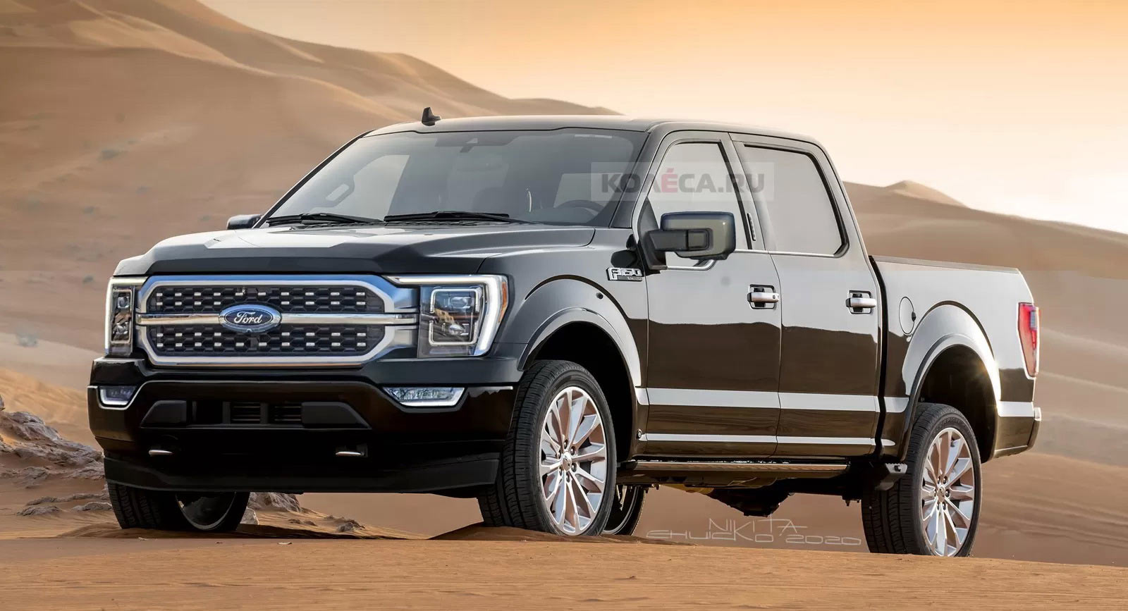 2021 Ford F 150 This Is Probably What It Will Look Like Carscoops 1600x867