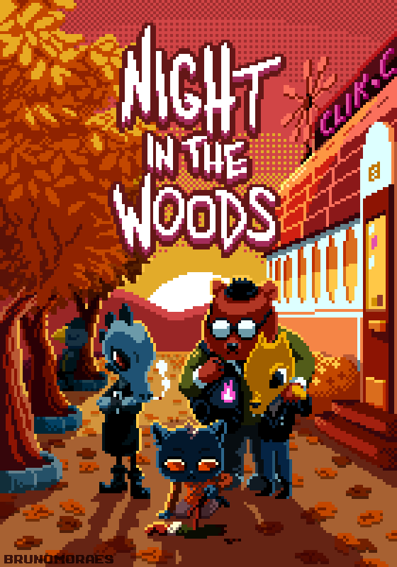Night in the Woods by bbrunomoraes 560x800