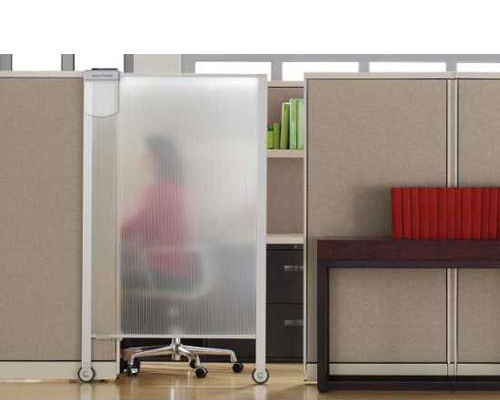 office cubicles with white wallpaper ecological door 379000html 500x400