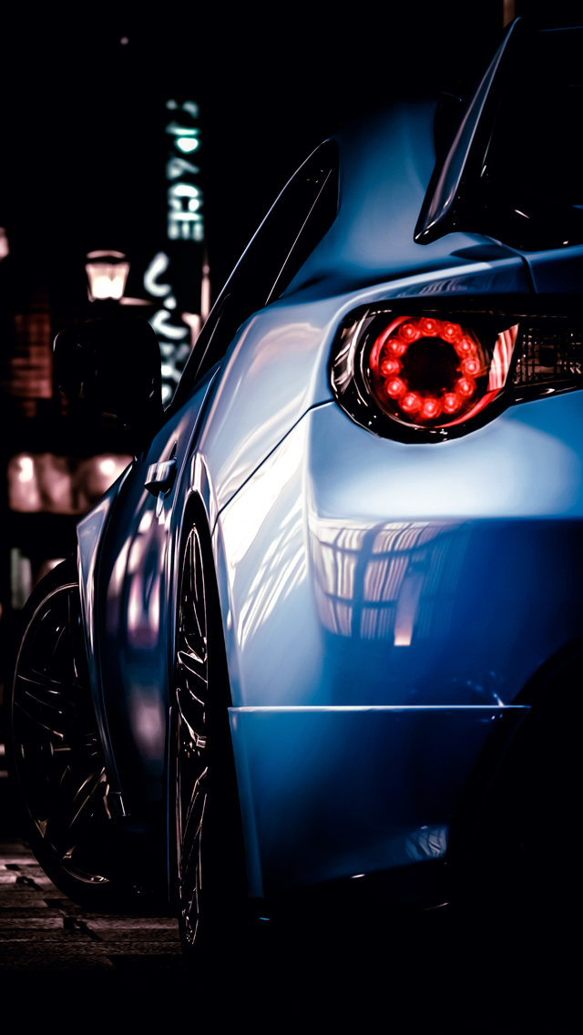 Subaru BRZ IPhone Wallpaper
