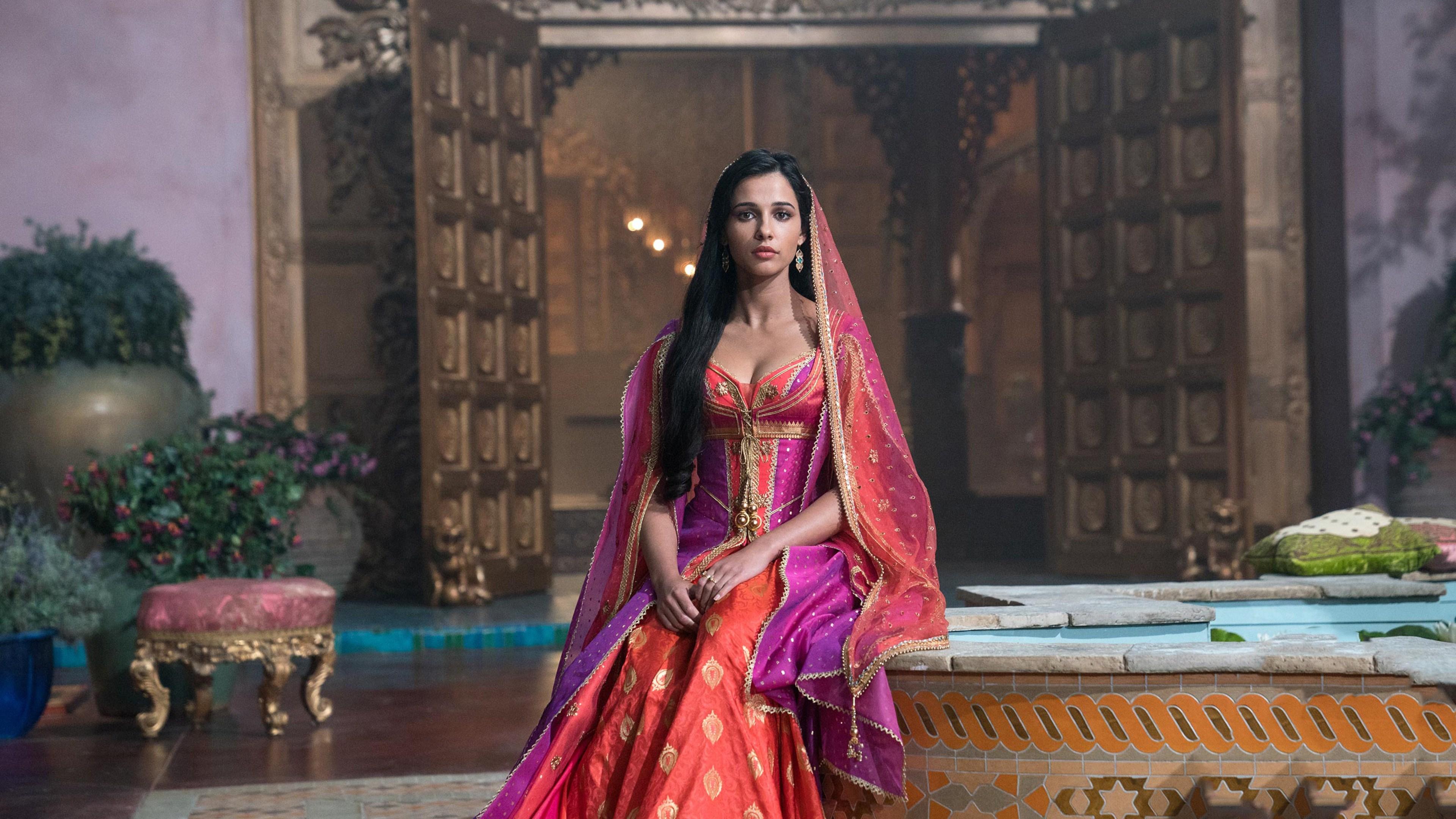 4k Wallpaper Naomi Scott Aladdin Movie 2019 4721 Wallpapers and 3840x2160
