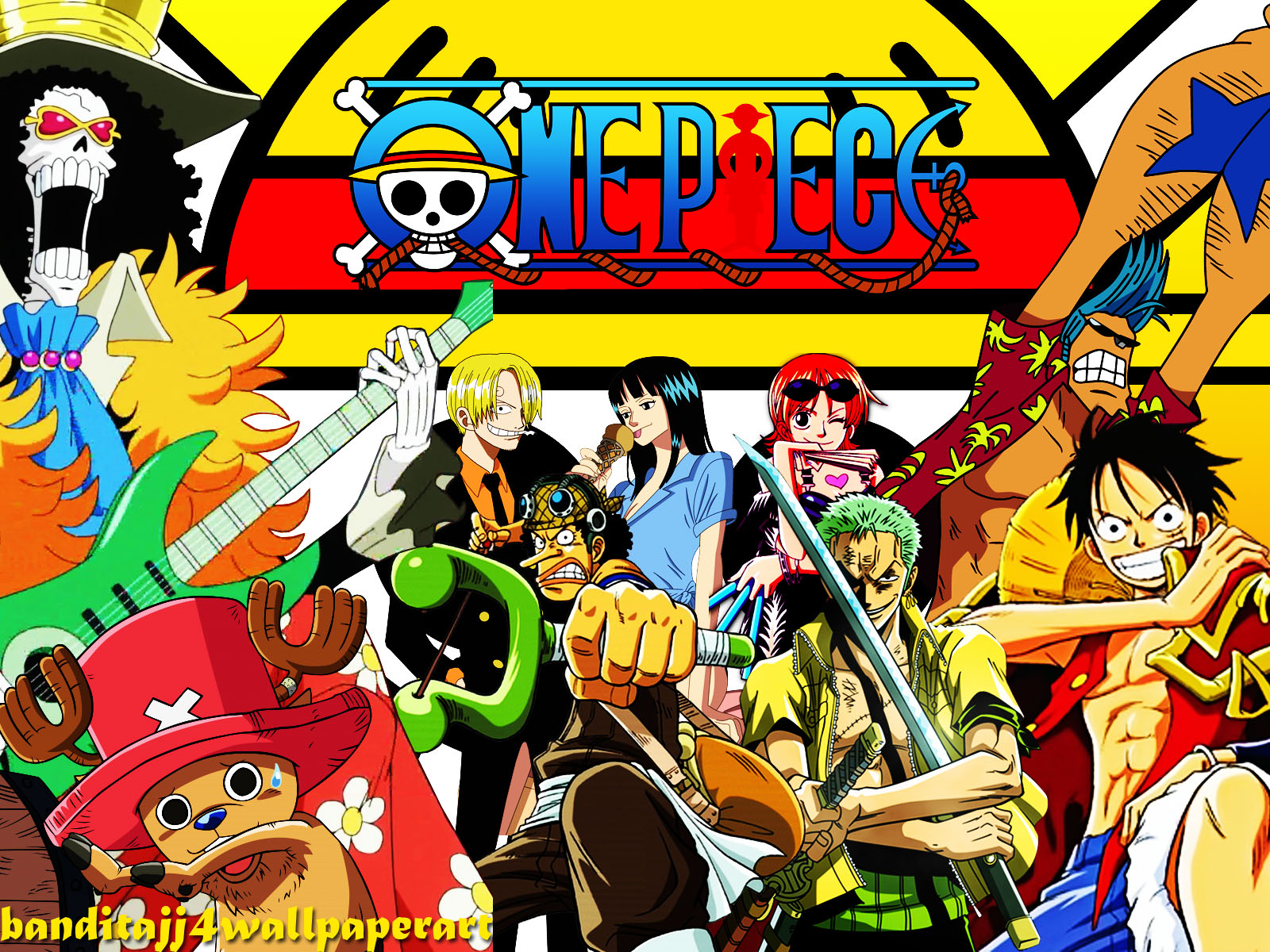 One Piece Crews Wallpapers For Desktop Background 1600x1200