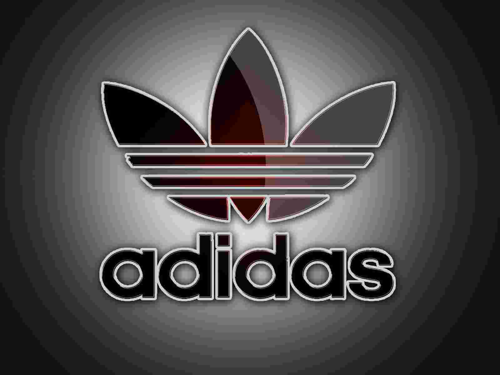 Adidas Logo On Grey Background 1600x1200 DESKTOP Sport 1600x1200