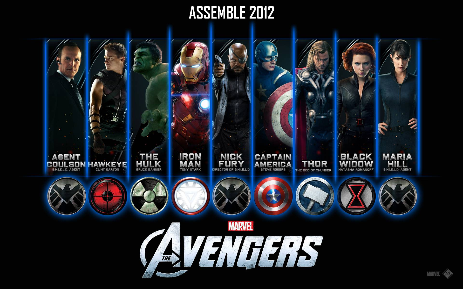 the avengers wallpaper Your Geeky Wallpapers 1920x1200