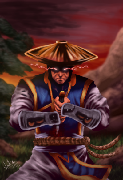 MKX ComicBook Raiden by MK Dragon 400x582