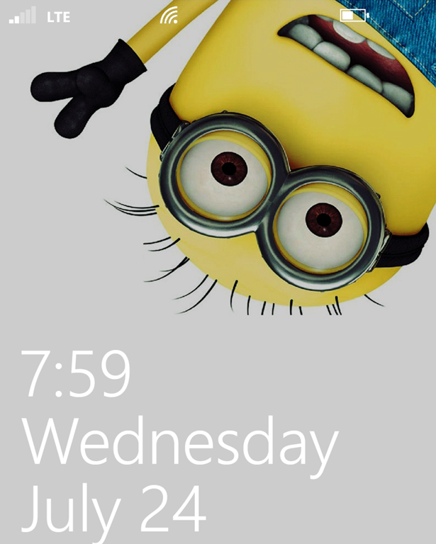 Despicable Minions App for Windows Phone 8 RobynsOnlineWorld 615x768