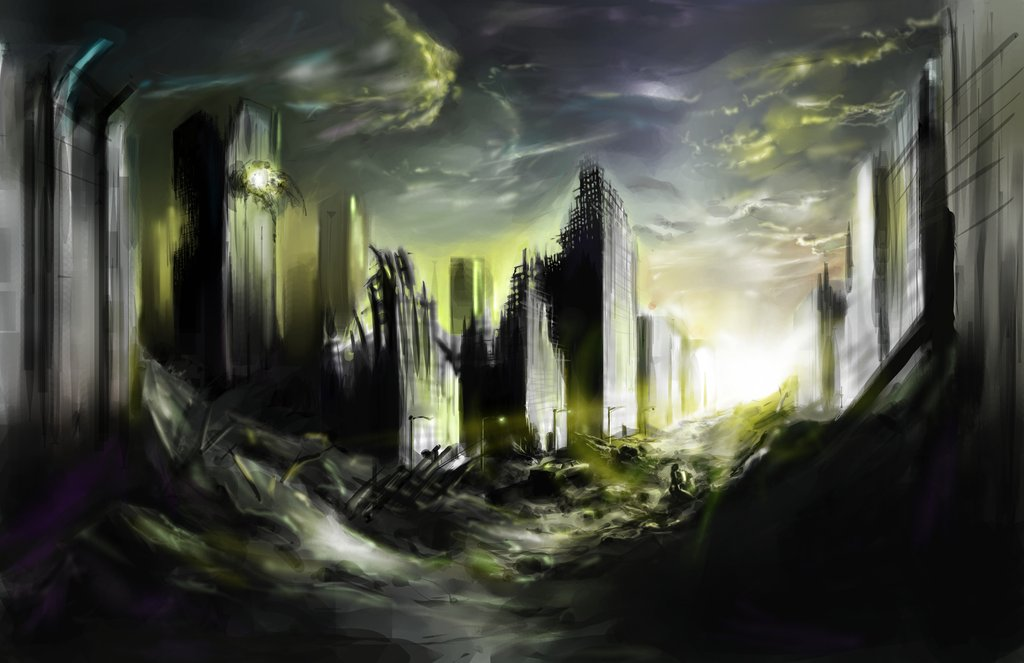 Destroyed City by Zasalamell 1024x663