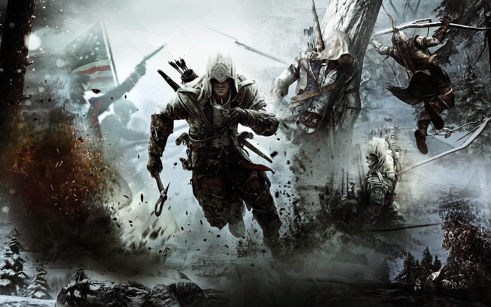 Assassins Creed 3 Wallpaper Hd 1080p Assassin`s creed 3 1920x1200