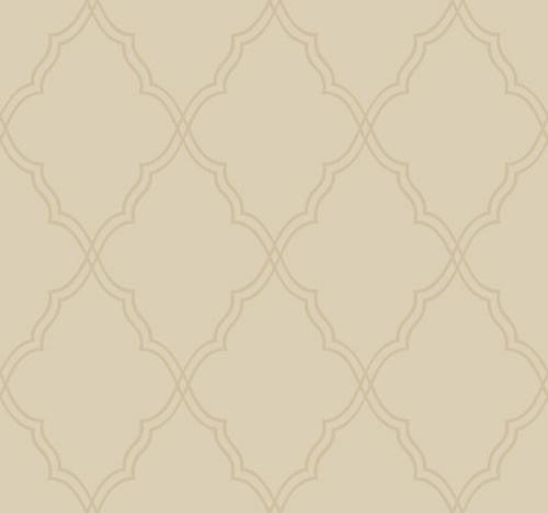 Surfaces Moroccan Lattice Sand Wallpaper traditional wallpaper 500x468