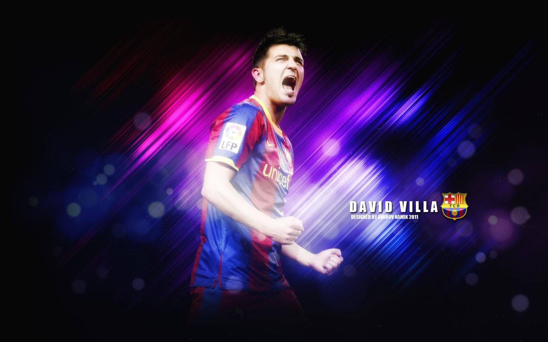 David Villa FC Barcelona Wallpaper   David Villa Wallpaper 22595075 1440x900